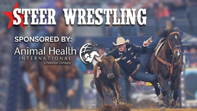 Steer Wrestling sponsored by Animal Health International