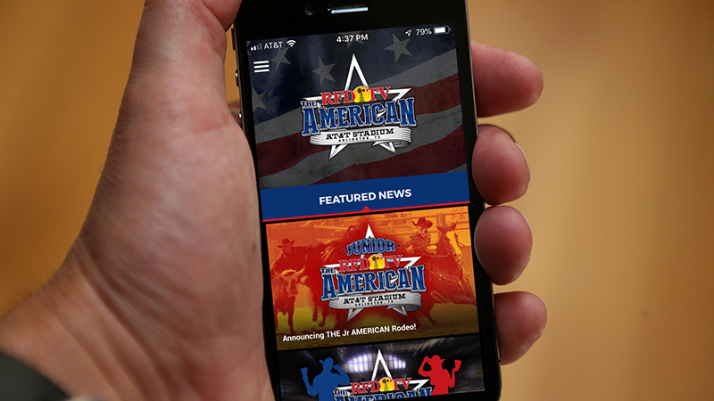 Get the THE AMERICAN RODEO app!