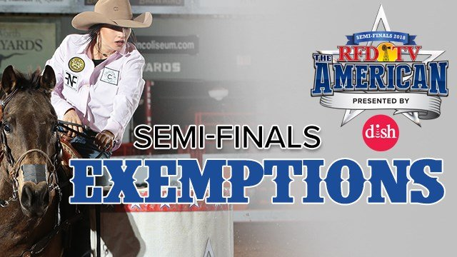2018 Semi Finals Exemptions